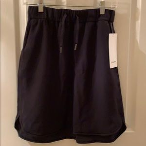 NWT black Lululemon skirt